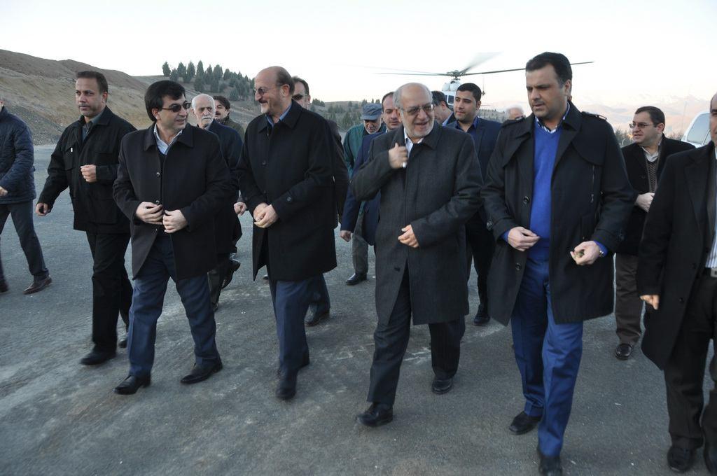 سفر وزیر صنعت، معدن و تجارت به استان کردستان در بهمن ماه 94