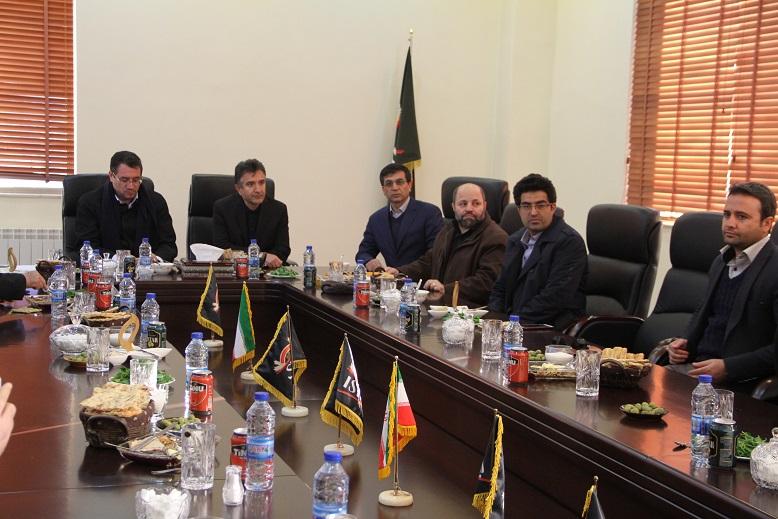سفر قائم مقام وزیر - بازدید از کارخانه ایستک کردستان - 3 آذر 95